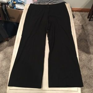 Style & Co wide leg mid rise dress pants size 16